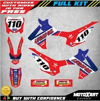 Custom Graphics, Full Kit For Honda CRF 110 2013 - 2018 ACTIVE STYLE Stickers