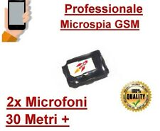 Microspia ambientale nascosta, Cimice spia cellulare gsm ambientale casa auto