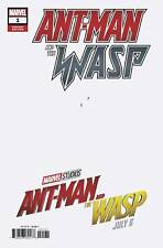 Ant-Man & Wasp #1 July 6 Movie 1:10 Variant Cover Comic (Marvel 2018) NEW