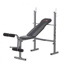 Panca PALESTRA Fitnes Da Allenamento Body Building PESI Addominali Bilanciere