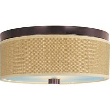 ET2 Lighting Elements 2-Light Flush Mount - E95002-101OI
