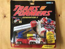 Transformers G2 1993 SURESHOT hero optimus prime MOSC new european hasbro