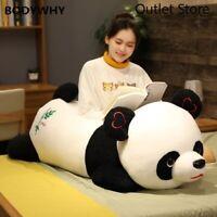 New Cute Panda Bear Plush Long Toy Pillow Stuffed Animal Pillow Cushion Gift