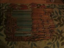 Vintage Lincoln Logs Lot Of over 300 Pieces Building Toy