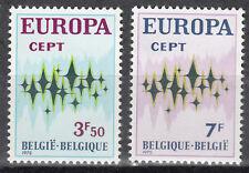 Belgique / Belgien Nr. 1678-1679** Europa 1972