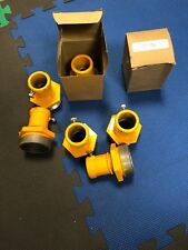 """Crouse Hinds 50184 Frangible Coupling 2"""" Aluminum 1/4"""" Screw ERL Yellow"""