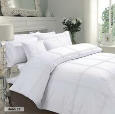 Hamlet Luxury Pintuck Duvet Covers Quilt Covers Bedding Sets All Sizes Available