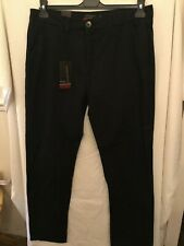 Mens Pierre Cardin Black Trousers 38R