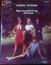 Vintage Old 1970 Photo Poster of Women Models Modeling 70's TONI TODD Fashion