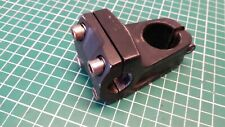 "BICYCLE BMX STEM BLACK 50 mm, Ø 1-1/8"", Ø 22.2 mm ALUMINIUM"