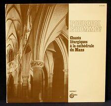 Jacques Berthier Pourquoi l'Homme Chants liturgiques cathédrale du Mans Lenoble