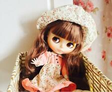 """12"""" Nude Blythe Doll From Factory 30cm Neo TaKaRa Brown Hair Barbie Doll Toys"""