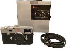 Leica M 10 24.0MP Digital Camera - Silver (Body Only)