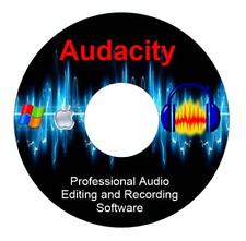 NEW 2018 Professional Audio Editing Recording Software-Studio MP3 Sound Music-CD