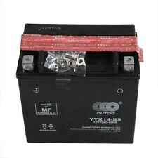 YTX14-BS Motorcycle Battery for Honda 1100cc VT1100C2 Shadow Sabre 2000-2007