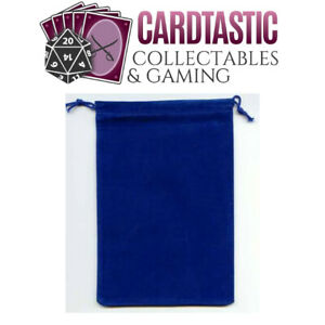Chessex Dice Bag Suedecloth Large Royal Blue