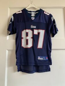 New! Rob Gronkowski On Field Jersey Patriots Size Youth Medium