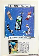 Yt 3374 LE TELEPHONE PORTABLE  FRANCE CARTE MAXIMUM 1° JOUR FCP