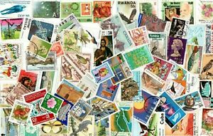 1 FULL POUND ALL WORLD SELECTION inc COMMONWEALTH OFF PAPER STAMPS T56