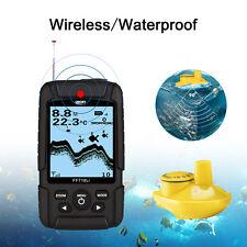 LUCKY FF718Li-W Fish Finder Wireless Sonar Fishfinder 45m 90 degrees Waterproof