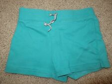 Carters Girls Green Elastic Waist Shorts Size 6 VGUC