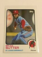 2014 Topps Archives Baseball Base Card - Bruce Sutter - St. Louis Cardinals