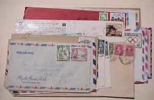 JAMAICA  30 COVERS FROM 1938 x2 MOSTLY TO USA