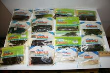 Huge Lot Gene Larew Soft Plastics Multi colors and styles