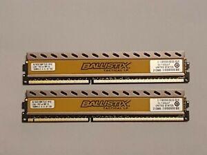 Crucial Ballistix Tactical 8GB (2X4GB) DDR3 RAM BLT4G3D1608ET3LX0.16FKD Tested