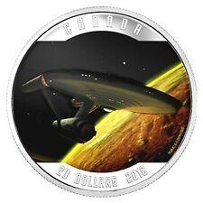 Kanada - 20 CAD Star Trek U.S.S. Enterprise 2016 - 1 Oz Silber