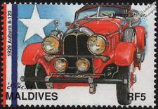 1929 AUBURN 8-120 Mint Automobile Speedster Car Stamp (1997 Maldives)