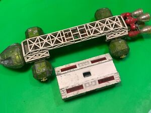 Dinky eagle transport,1974,green spaceship,made in England classic toy,tv.