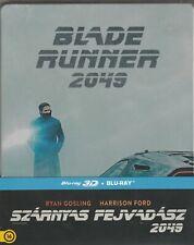 Blade Runner 2049 (2017) 2D + 3D Blu-Ray Steelbook NEW Region Free