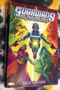 GUARDIANS OF THE GALAXY Solo Classics OMNIBUS (HC) - Marvel comics - NM/Mint