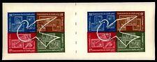 ROMANIA BLOCK 53 WELTRAUM 1962 PAAR UNGESCHNITTEN TAUBE PIGEON SPACE z2502