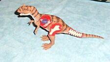 Jurassic Park Allosaurus Battle Ravaged Medical Center Dino Figure Not Complete
