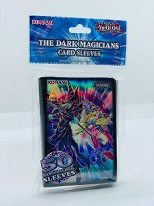 YUGIOH!! The Dark Magicians Motiv Hüllen/Sleeves! 50 Stück! Neu/OVP!