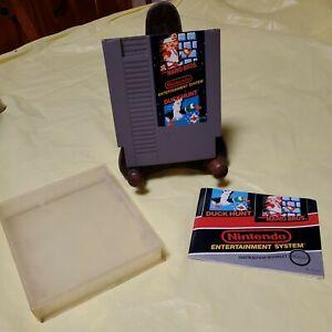 NINTENDO GAME CARTRIDGE 'DUCK HUNT/SUPER MARIO BROS.' FOR NES---MADE IN USA-1985