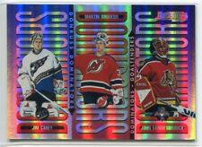 1996-97 Donruss Dominators 1 Jim Carey John Vanbiesbrouck Brodeur 2278/5000