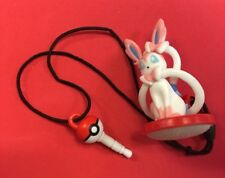 Sylveon Screen Cleaner Pokemon Phone Plug Charm Figure Strap Japan Pokeball
