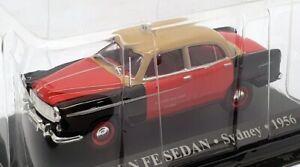 Altaya 1/43 Scale AL6221V - 1956 Holden FE Sydney Taxi - Beige/Red/Black