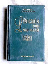 Vietnamese Bible, Catholic Edition, LỜI CHÙA CHO MỌI NGƯỜI, Green Hardcover
