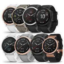 GARMIN FENIX 6S MULTI SPORT SMARTWATCH 42MM PRO & SAPPHIRE - PICK STYLE & COLOR