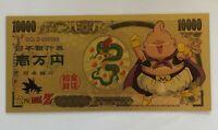 Fat Majin Buu Dragon Ball Z Gold Money Card