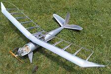🇺🇸L@K Super Rare Vtg 1946 Vahl Engineering Skyvahl Model Rc Aluminum Airplane