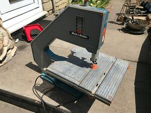 Black and Decker Band saw DN 339 . Tilting table and Variable speed .