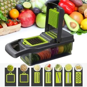 12 in 1 Manual Food Vegetable Fruit Peeler Cutter Slicer Dicer Chopper Kitchen