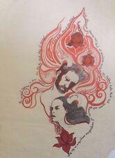 Haight Ashbury Vernal Equinox  Concert | SF GG Park | Orig. 1968 Rare Poster