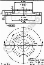 Bremsscheibe (2 Stück) - Brembo 09.5486.50