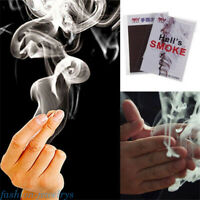 10PCS Close-Up Magic Illusion Gimmick Finger Smoke Fantasy Trick Prop Stand-Up